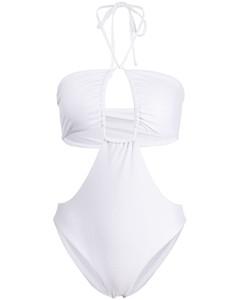 水晶綴飾豹紋絲緞中長連衣裙