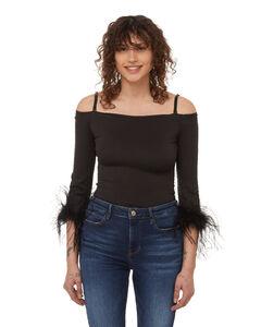 Bishop-sleeve silk-crepe mini dress