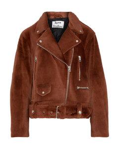 Woman Merlyn Shearling Biker Jacket