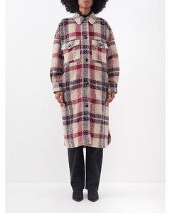 層搭細節泡泡紗連衣裙