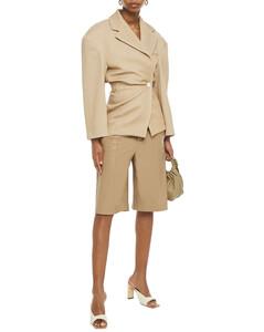 Woman Wool-blend Twill Blazer