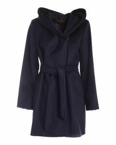 Studio Gap Hooded Belted Coat