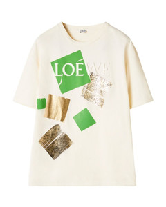 Logo Square Print T-Shirt