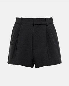 Lorena cotton-blend shorts