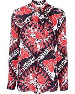 Short coat in white