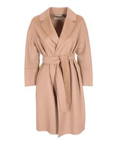 Arona coat in Camel color