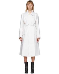 白色麦金托什风衣