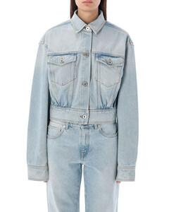 Logo-print loose-fit cotton-poplin midi shirt dress
