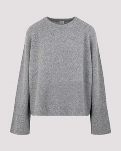 Totême Wool and Camel Knitted Sweater