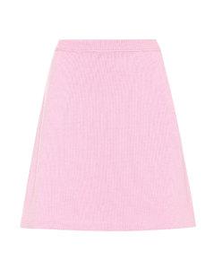 Cashmere miniskirt
