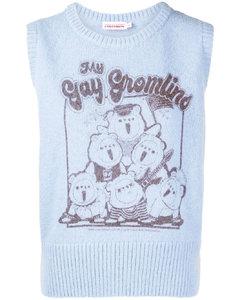 Hilda斑马纹棉质运动衫