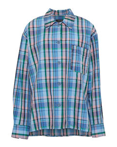 Belted zigzag-knitted swimsuit