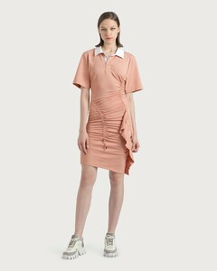Gathered Polo Dress