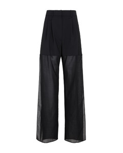 Panelled cotton and wool-blend jacket