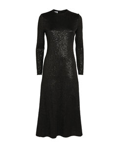 Farah animal-print minidress