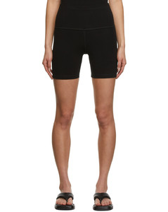 High-rise houndstooth wool-blend trousers