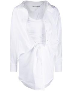 垂坠衬衫裙