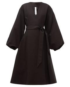 Sian cotton wrap coat