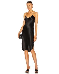 Short Cami Dress in Black