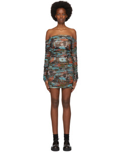SSENSE发售多色Romandie连衣裙
