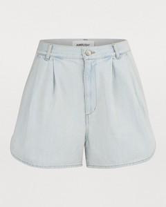 Denim short-pants