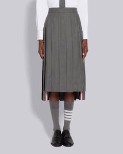 SUPER 120'S羊毛过膝裙