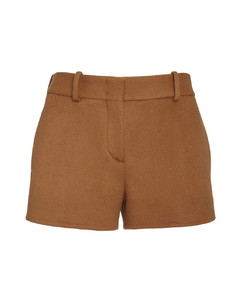 Fringed Wool Cashmere Trench Coat