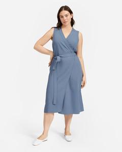 The Japanese GoWeave Sleeveless Wrap Dress