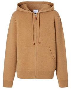 Argun Cashmere Knit Zip-up Sweater