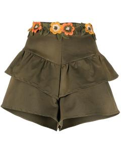 Ruffled effect skirt