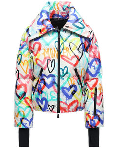 Belpeit Printed Down Jacket