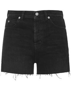 花卉印花压褶连衣裙