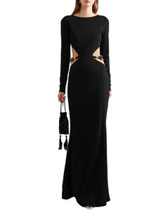褶飾直筒半身裙