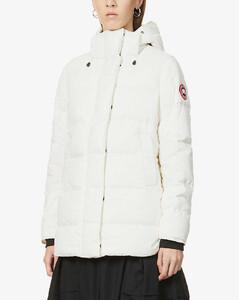 Alliston padded shell-down jacket