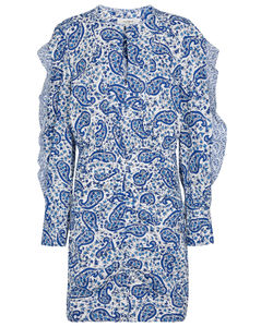 Lexini paisley cotton minidress