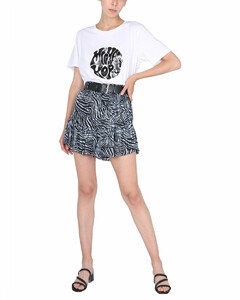 Elke top and cardigan organic cotton-knit set
