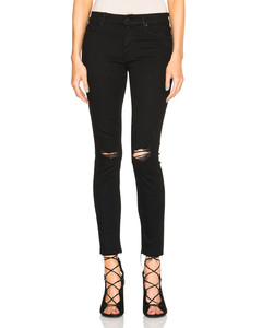 Looker Ankle Fray in Black