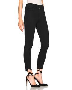 Stunner Zip Ankle Step Fray in Black