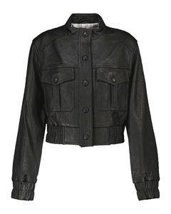 Irasema皮革夹克