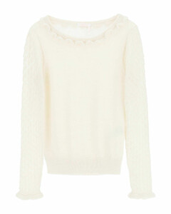 Sequined striped fitted dress