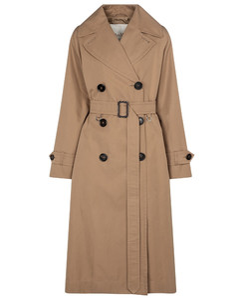 Dimper cotton gabardine trench coat