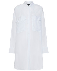 Check Print Long Coat