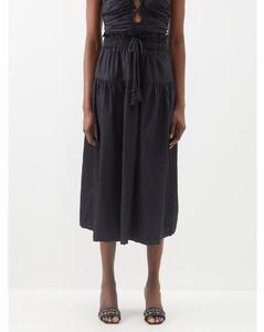 Perou striped mohair-and-alpaca blend dress