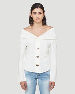 Miriam Blouse in White