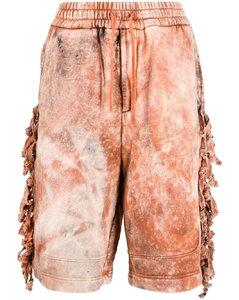 Long Striped Viscose Shirt Dress