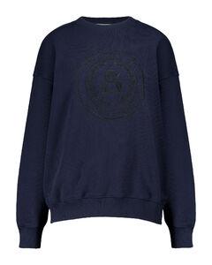 刺绣棉质运动衫