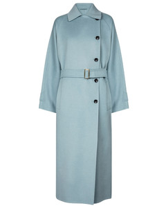 Osol camel hair trench coat