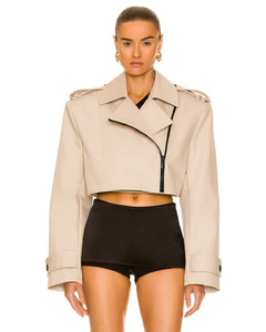 x Mackintosh belted trench coat