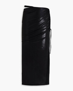 Wiles double-breasted wool-blend coat