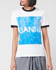 Women's Logo Graphic Print T-Shirt - White